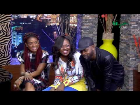 THE NIGHT SHOW - Interview with Feyth & Chioma (Musicians) Pt.1 | Wazobia TV