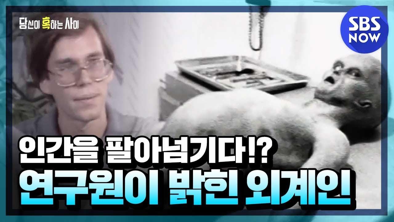 [당신이 혹하는 사이] 요약 '외계인의 정체를 폭로한 미국 군사비밀기지 연구원' | SBS NOW