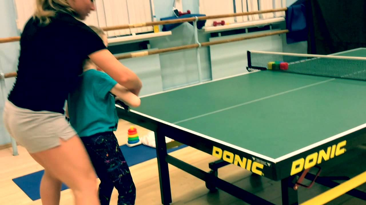 Table tennis training with beginners children youtube - Butterfly world com table tennis ...