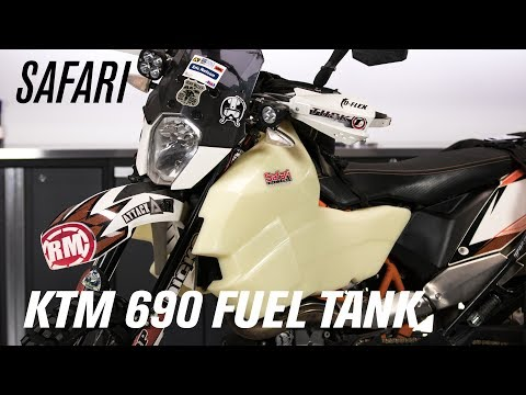 Safari Fuel Tanks | KTM 690 Enduro - YouTube