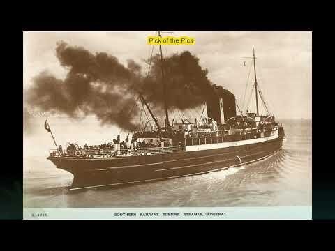 Slideshow of Coastal Shipping Vessels Part 1, Docks, Harbours etc