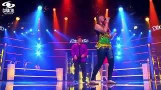 Jessica, Yuliana,Andrés cantaron  'Que precio tiene el cielo'M.Anthony– LVK Colombia – Batallas – T1