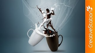 The Eternal Moment - Speed art (#Photoshop, #Poser) | CreativeStation