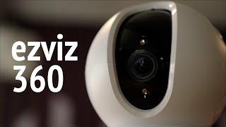 Камера наблюдения Ezviz 360. Облачное наблюдение за 5 минут в 360