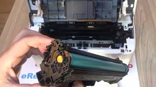 HP Laser M15 M15W - Replacing the Toner Cartridge CF244A 44A