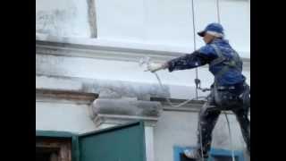 ремонт фасада   церковь п Белавка(http://pas21.ru/, 2012-08-29T06:32:54.000Z)