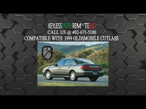 How To Replace Oldsmobile Cutlass Key Fob Battery 1999
