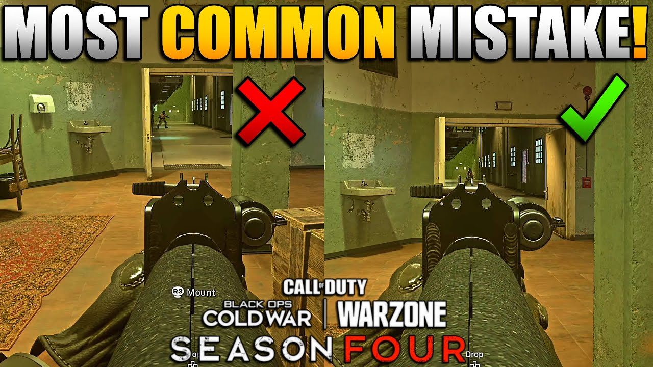 Instantly Raise Your KD in Warzone w/This Simple Trick | Centering/Cross Hair Placement Like a Pro
