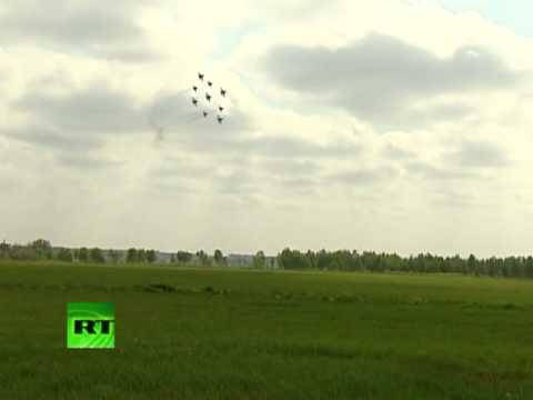 Acrobacias aéreas en Rusia: ¿espectáculo o entrenamiento?