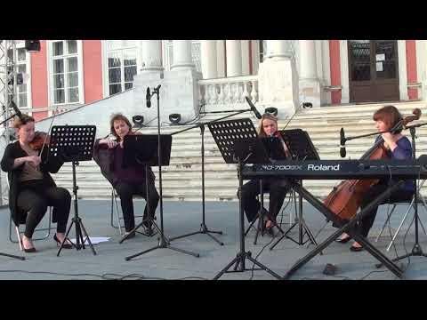 И.  Брамс  Венгерский танец № 6 -  Доминант -  квартет