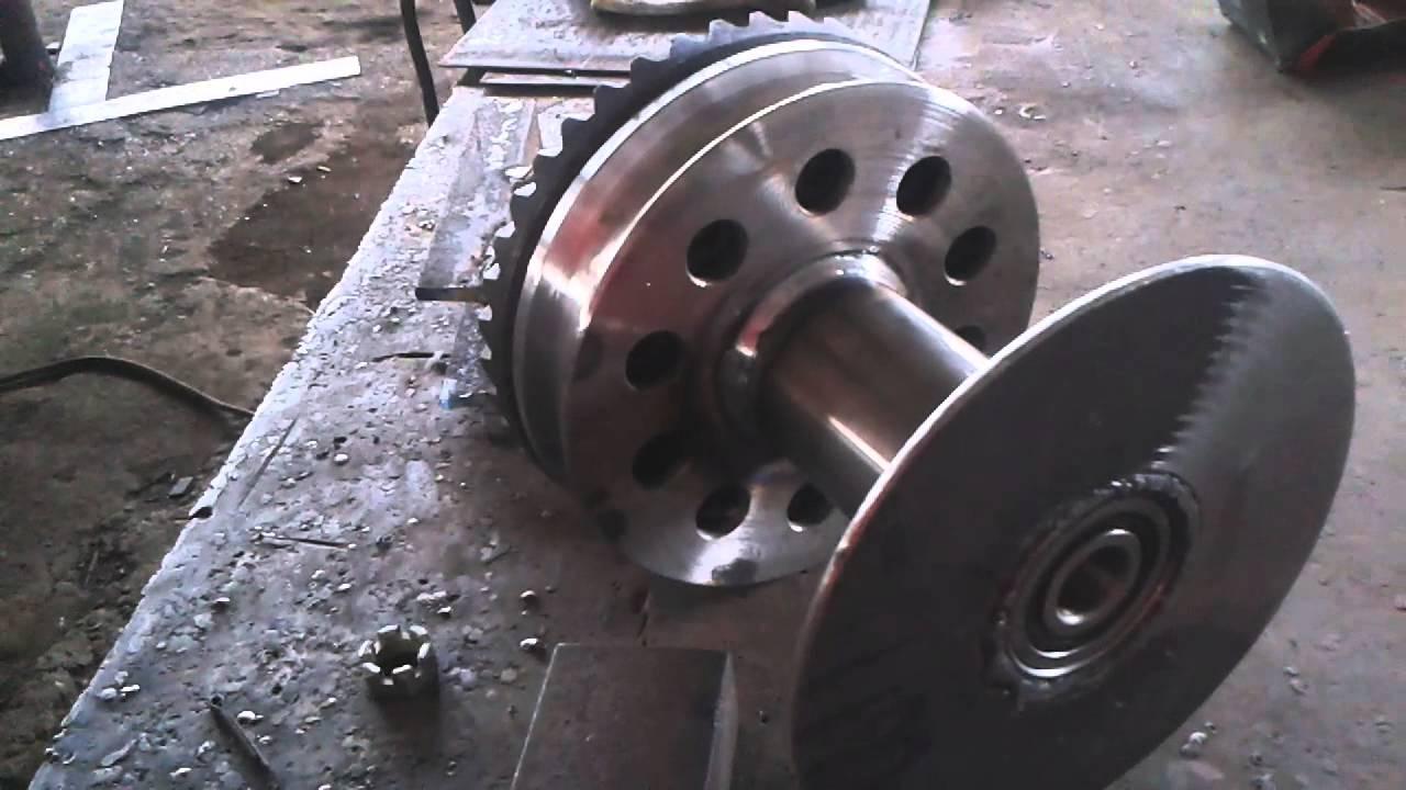 Механическая лебёдка на Уаз. DRIVE 2 16