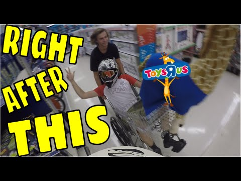 "TOYS ""R"" US CHASED US, KICKED US OUT, WE WOULDN'T LEAVE"