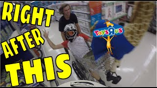 """TOYS """"R"""" US CHASED US, KICKED US OUT, WE WOULDN"""