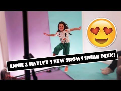 Annie & Hayley's New Shows Sneak Peek 😍  (WK 384.3) | Bratayley