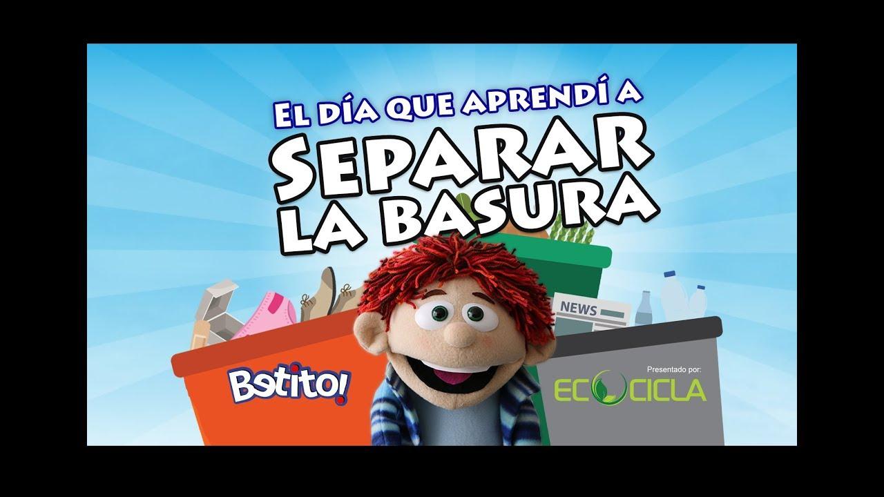 Benito aprendió a reciclar