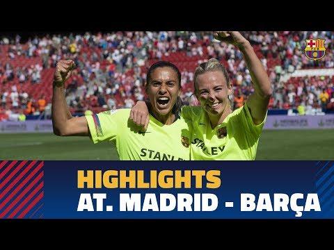 Highlights Women S Liga Atletico Madrid Fc Barcelona 0 2