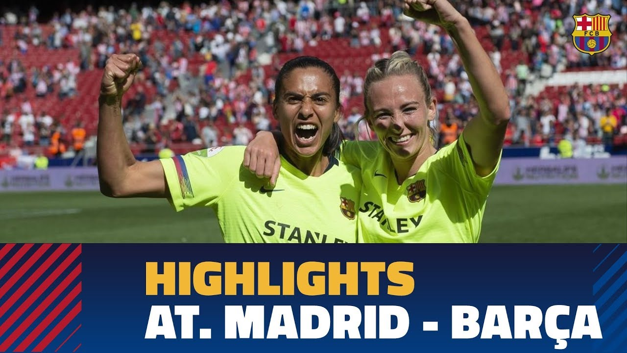 3a756dd9466bc HIGHLIGHTS  Women s (Liga)  Atlético Madrid - FC Barcelona (0-2 ...