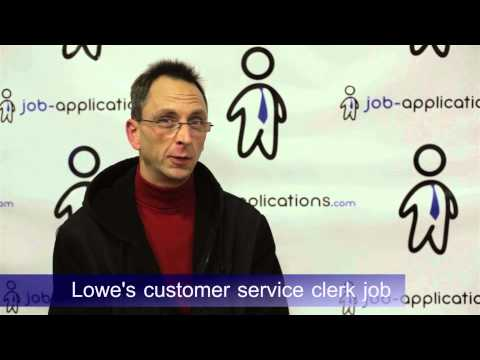 Lowe's Interview Questions & How to Get a Job Tips