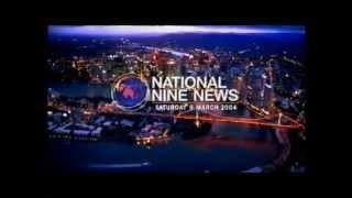 Repeat youtube video QTQ National Nine News Saturday March 6, 2004.