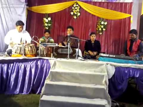 Jhum ke jab rindo ne pila di by Omkar Pal and Tabla playing by Anil Rai