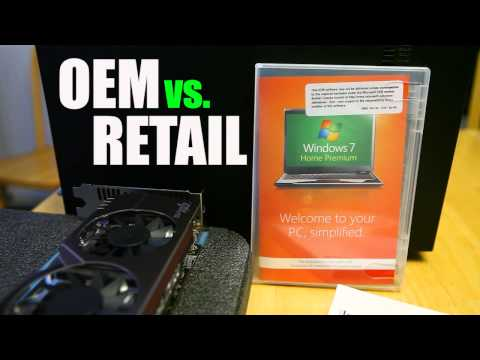 Windows OEM vs. Retail
