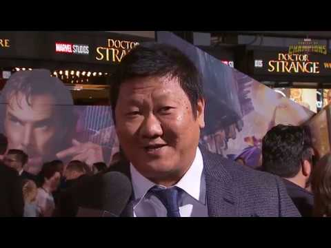 Benedict Wong Talks Bringing Wong to Life at Marvel's Doctor Strange Premiere