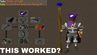 THIS GEAR ACTUALLY WORKED... (Troll Gear Bridding)