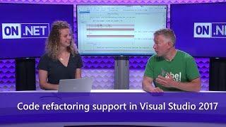Code refactoring support in Visual Studio 2017
