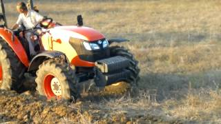 Kubota Traktör M9540 Pulluk