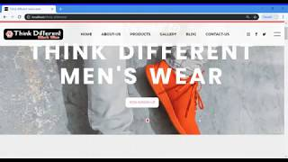 THINK DIFFERENT MENS WEAR text…