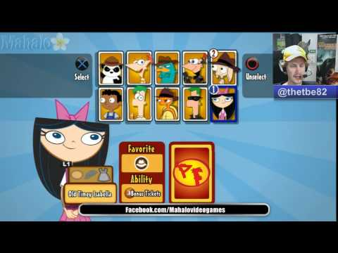 Phineas and Ferb Across the 2nd Dimension All Characters and Costumes