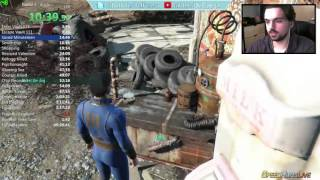 Fallout 4 Any% Speedrun 1:09:29 IGT (12/10/15)