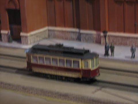 One of the largest  train layout Cincinnati in motion museum model