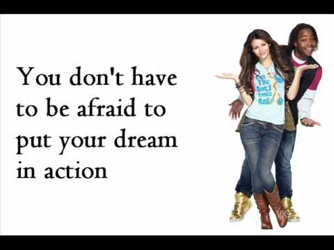 Victoria Justice feat. Leon Thomas III - Make it Shine (Remix) - Lyrics on Screen