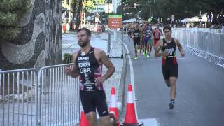 2015 Rio de Janeiro ITU World Olympic Qualification Event - Elite Men(Javier Gomez Noya (ESP) added to his collection of titles and accolades when he crossed the finish line first at the 2015 Rio de Janeiro Test Event, ensuring he ..., 2015-08-03T14:10:04.000Z)