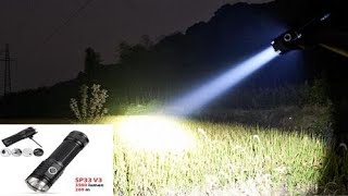 Sofirn SP 33 Flashlight 3500 lumens - Đèn Pin Cầm Tay Công Suất Lớn - Tuandentv.com