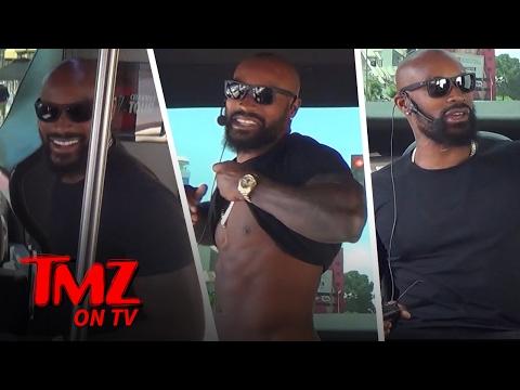 Tyson Beckford Hitches A Ride With The TMZ Celebrity Tour Bus   TMZ TV