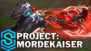PROJECT: Mordekaiser Skin Spotlight - Pre-Release - League of Legends