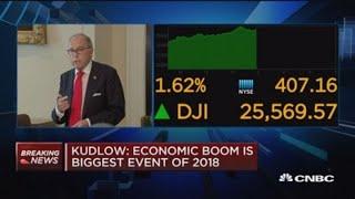 Larry Kudlow: US economy is 'crushing it' while Chinese economy 'looks terrible'