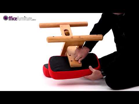 Posture Wooden Kneeler Chair Assembly Guide