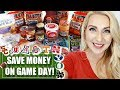 Grocery Shopping Tips: Football Food, Parties and Tailgating | Grocery Shop with Me!
