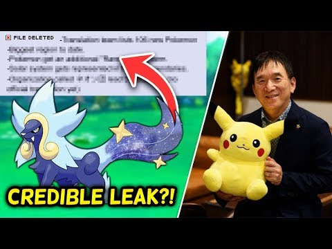 The Pokémon Gen 8 LEAK that was DELETED & GOT THE USER BANNED + Ishihara Interview