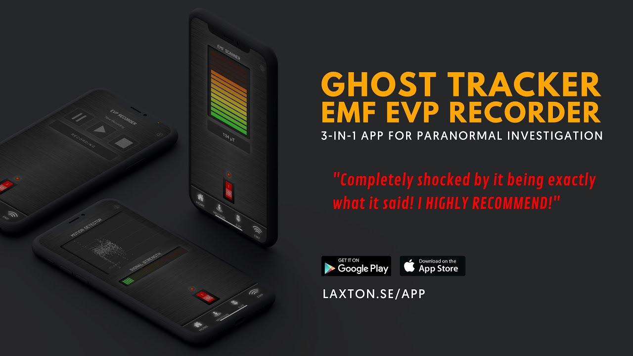 LaxTon Appen // 3-i-1 app för Spökjakt
