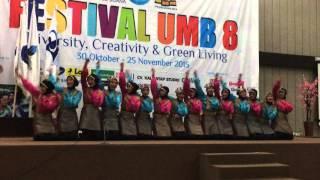 Ratoh Jaroe SMAN 62 Jakarta at Festival UMB 8