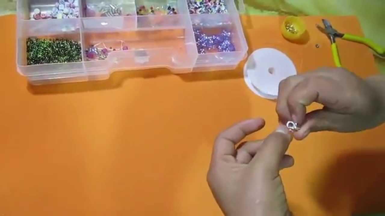 Como hacer pulseras de mostacillas paso a paso tutorial for Como hacer una pileta de material paso a paso