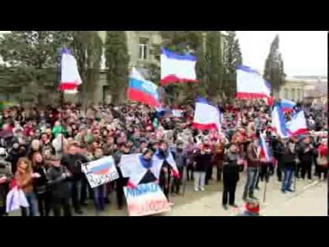 Судак митинг Мир Крым референдум