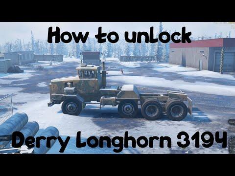 SnowRunner - How to unlock Derry Longhorn 3194 | Big Heavy Truck!