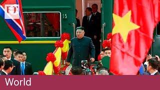 Kim Jong Un arrives in Vietnam