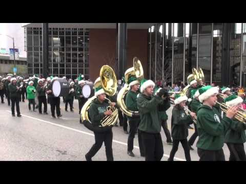 Mehlville High School Marching Band Thanksgiving Day Parade 2015