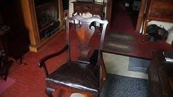 Antique Furniture Queen Anne Chair Circa 1750.